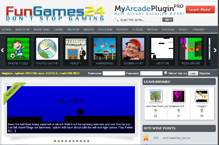 Fun Games Theme