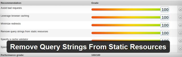 Remove Query Strings Plugin